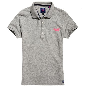 Superdry - Polo manches courtes - gris
