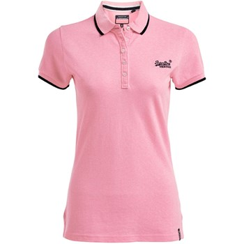 Superdry - Pacific - Polo manches courtes - rose