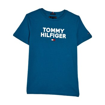 Tommy Hilfiger - T-shirt manches courtes - turquoise