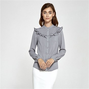 Nife - Chemise manches longues - gris