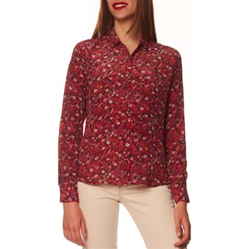 Pepe Jeans London - Joane - Chemise manches longues - rouge