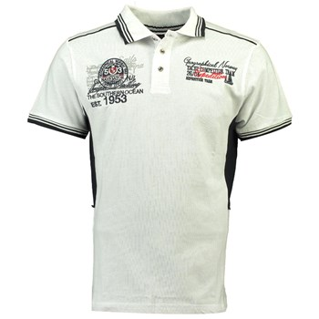 Geographical Norway - Kling ss men - Polo manches courtes - blanc