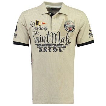 Geographical Norway - Kaco ss men - Polo manches courtes - beige