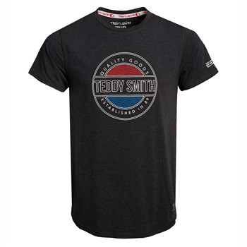 Teddy Smith - Tylan - T-shirt manches courtes - noir
