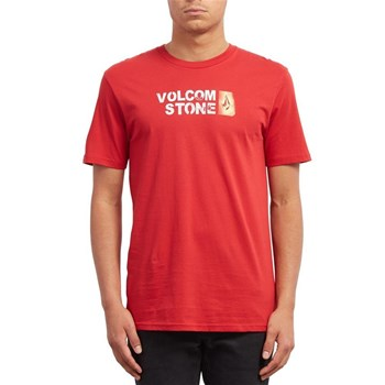 Volcom - T-shirt manches courtes - rouge