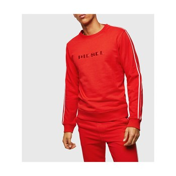 Diesel - Willy - Sweat-shirt - rouge