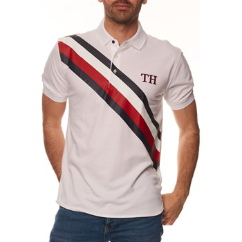 Tommy Hilfiger - Polo manches courtes - blanc