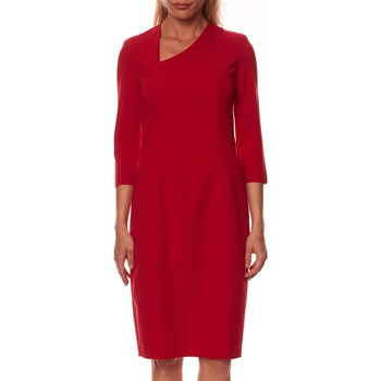 Nife - Robe droite - rouge