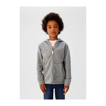 Mango Kids - Sweat à capuche - gris