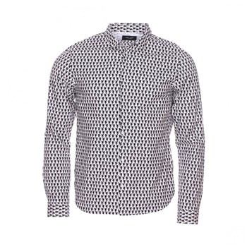 Teddy Smith - Chemise manches longues - blanc