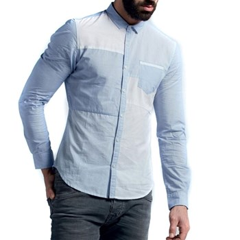 Teddy Smith - Chemise manches longues - bleu