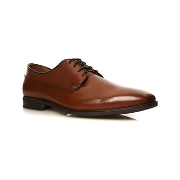 Geox - New Life - Derby in pelle - cognac