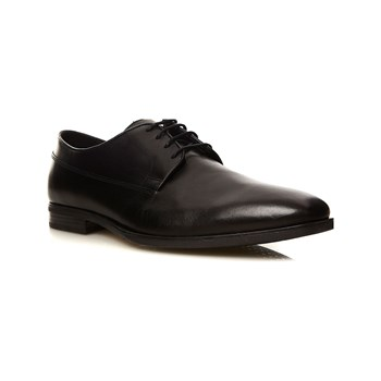 Geox - New Life - Derby in pelle - nero