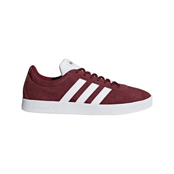 Adidas - VL Court 2.0 - Baskets en cuir - bordeaux