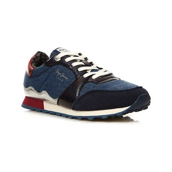 Pepe Jeans Footwear - Verona - Low Sneakers - marineblau