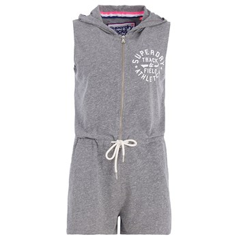 Superdry - Track field play - Short - gris