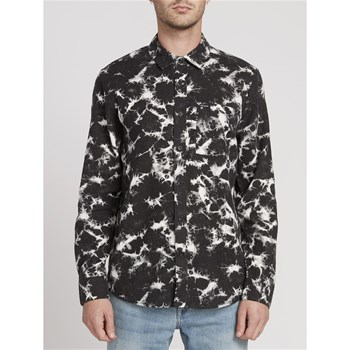 Volcom - Spinner flannel l/s - Chemise manches longues - noir