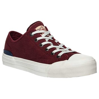 Superdry - Trophy classic - Baskets basses - rouge
