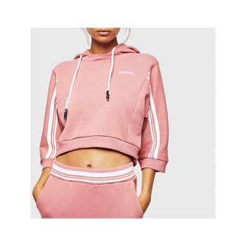 Diesel - Vertix-crop - Sweat à capuche - rose