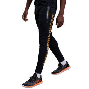 Superdry - Gymtech gold - Pantalon jogging - noir
