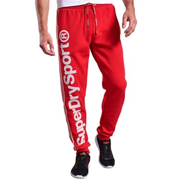 Superdry - Cobat - Pantalon jogging - rouge