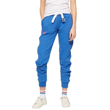 Superdry - Orange label  - Pantalon jogging - bleu