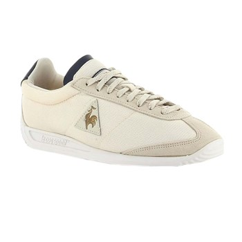 Le Coq Sportif - Quartz w metallic  - Baskets basses - beige