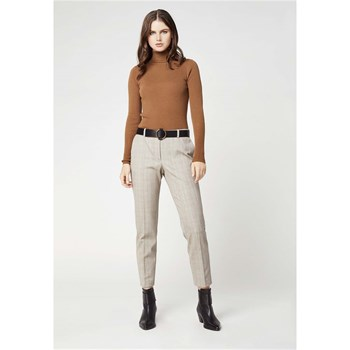 Kookai - Pantalon carreaux - beige