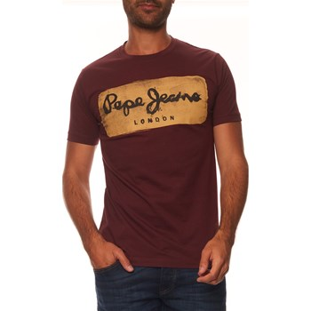 Pepe Jeans London - Charing - T-shirt manches courtes - vin
