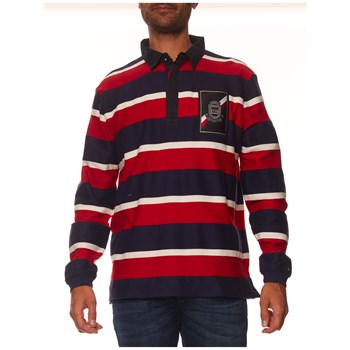 Tommy Hilfiger - Polo manches longues - rouge