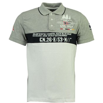 Geographical Norway - Polo manches courtes - gris
