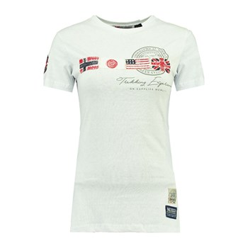 Geographical Norway - Jorama - T-shirt manches courtes - blanc