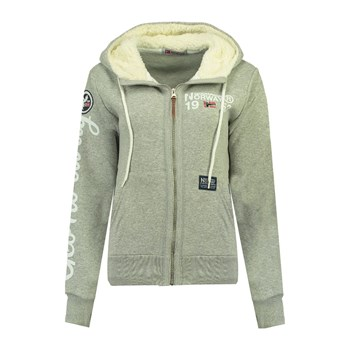 Geographical Norway - Furedal - Sweat à capuche - gris clair