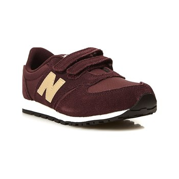 New Balance - Snackers in pelle bimateriale - bordeaux