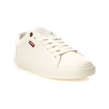 Levi's - Woods - Baskets basses - blanc