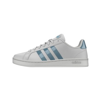 Adidas - Grand Court - Ledersneakers - grau