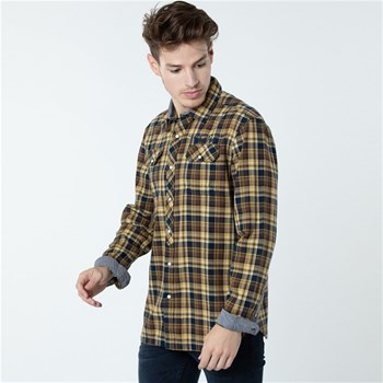 Lee Cooper - Daxxo - Chemise manches longues - jaune