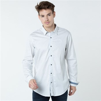 Lee Cooper - Daxxou - Chemise manches longues - blanc