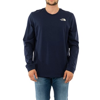 The North Face - T-shirt manches longues - bleu