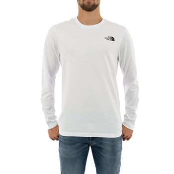The North Face - T-shirt manches longues - blanc