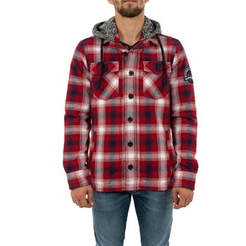 Superdry - Chemise manches longues - rouge