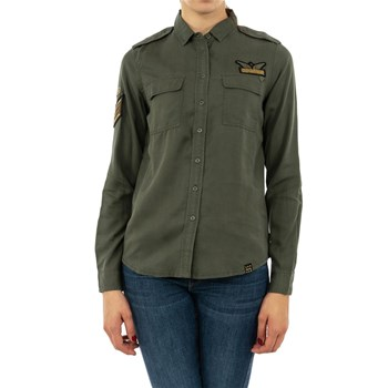Superdry - Chemise manches longues - vert