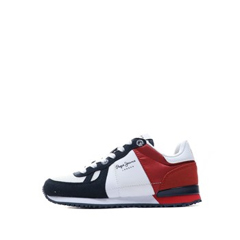 Pepe Jeans London - Baskets basses - rouge