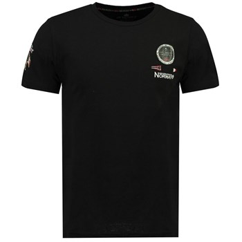 Geographical Norway - Javaire - T-shirt manches courtes - noir