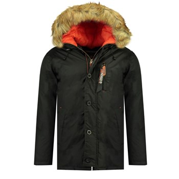 Geographical Norway - Darwin - Parka - noir