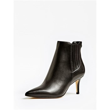 Guess - Felipa - Bottines en cuir - noir