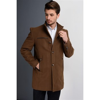 Dewberry - Manteau 70 % laine - camel