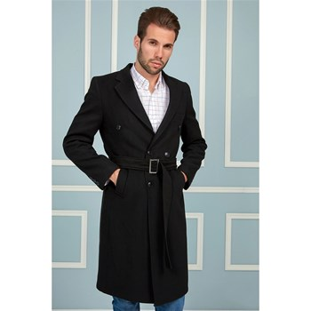 Dewberry - Manteau 70 % laine - noir