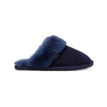 Fenlands Sheepskin - Chaussons - bleu marine