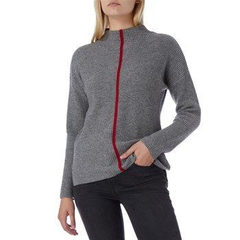 N°· Eleven - Pull 70 % laine - gris